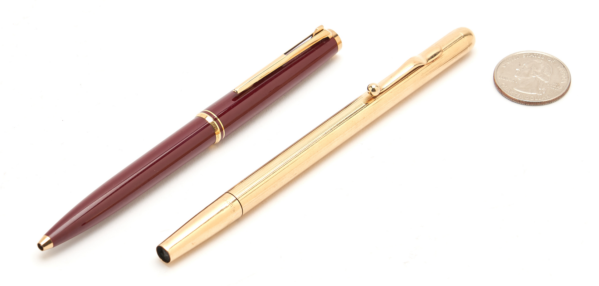 Lot 1217: Tiffany 14K Pencil and Montblanc Pen