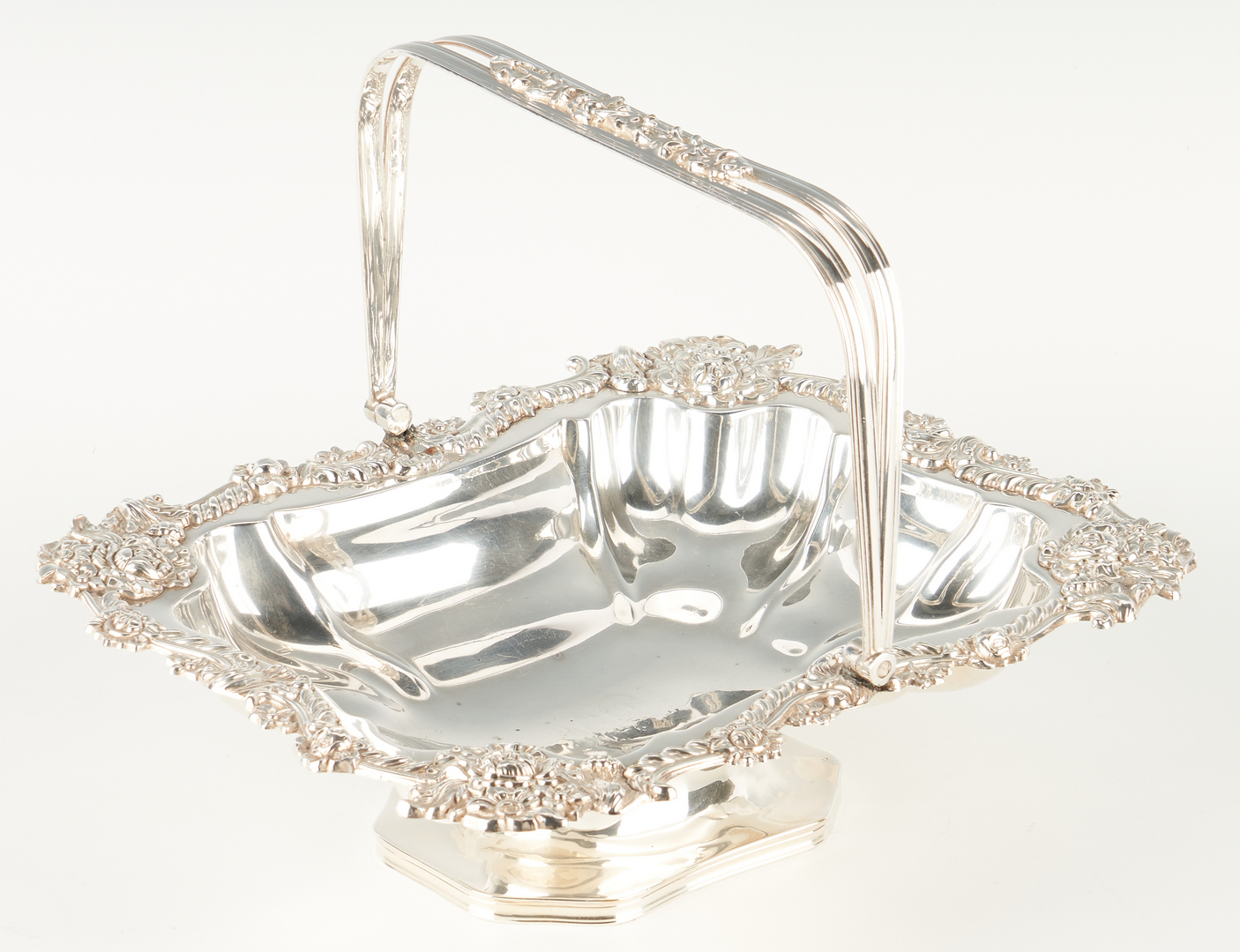 Lot 1245: 13 Sterling or Silverplate Hollowware Items, incl. Francis I