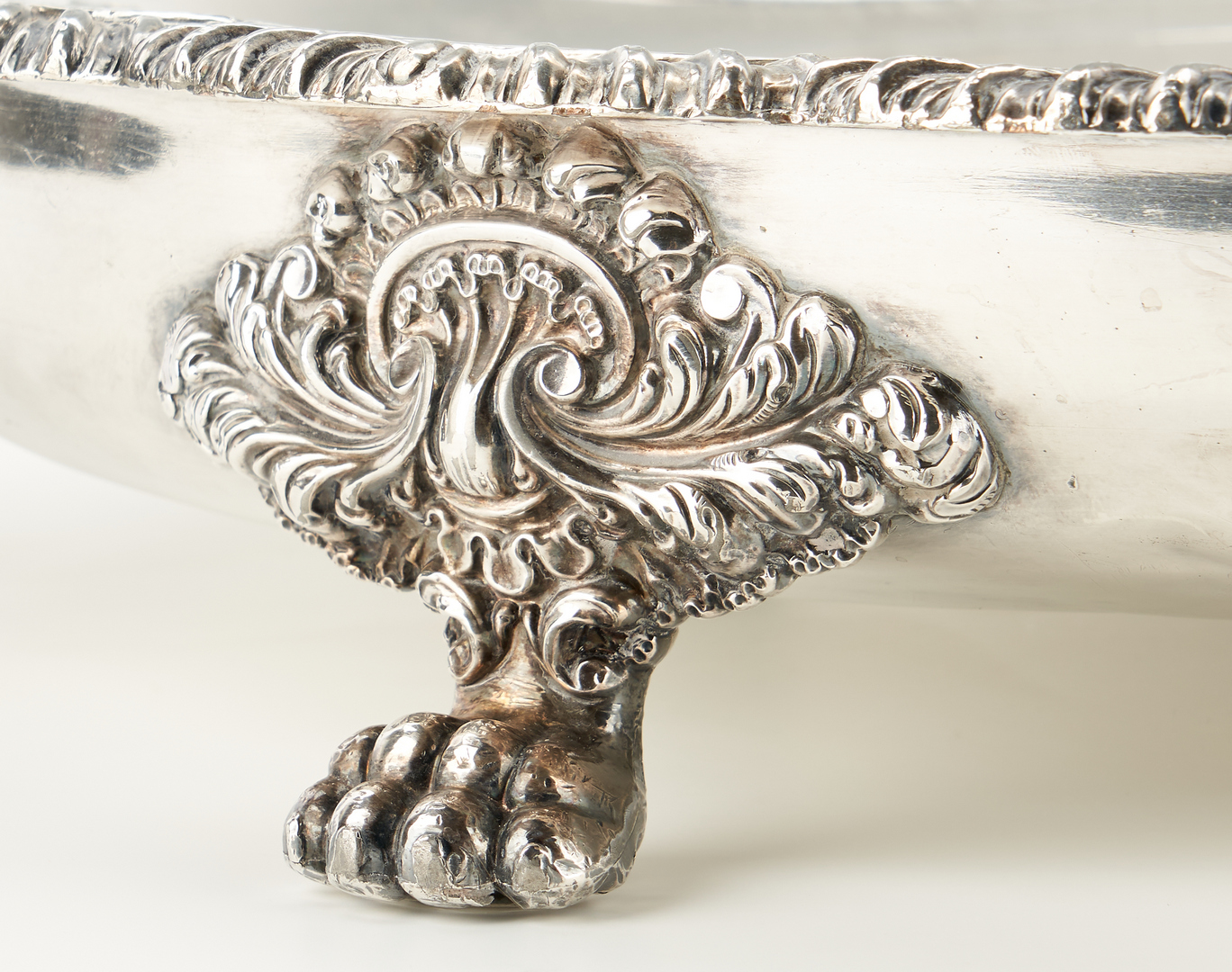 Lot 1246: Old Sheffield Plate Warming Stand and Mazarin