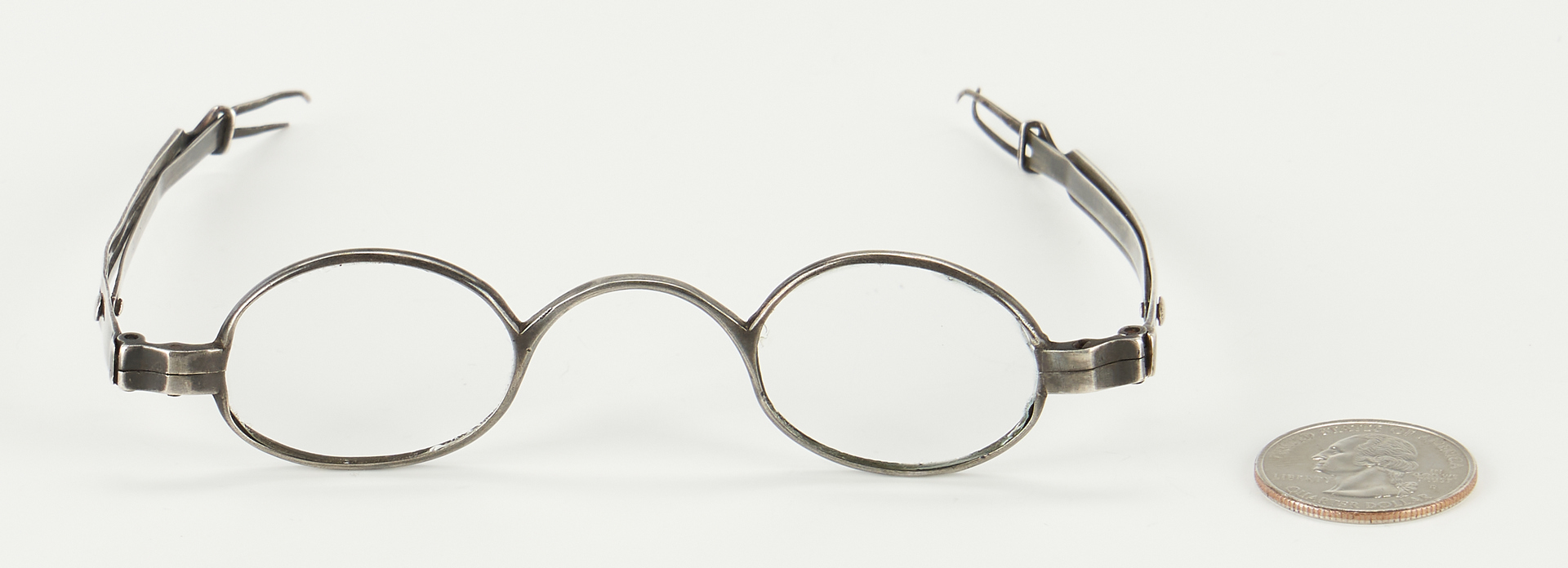 Lot 124: Kentucky Coin Silver Spectacles