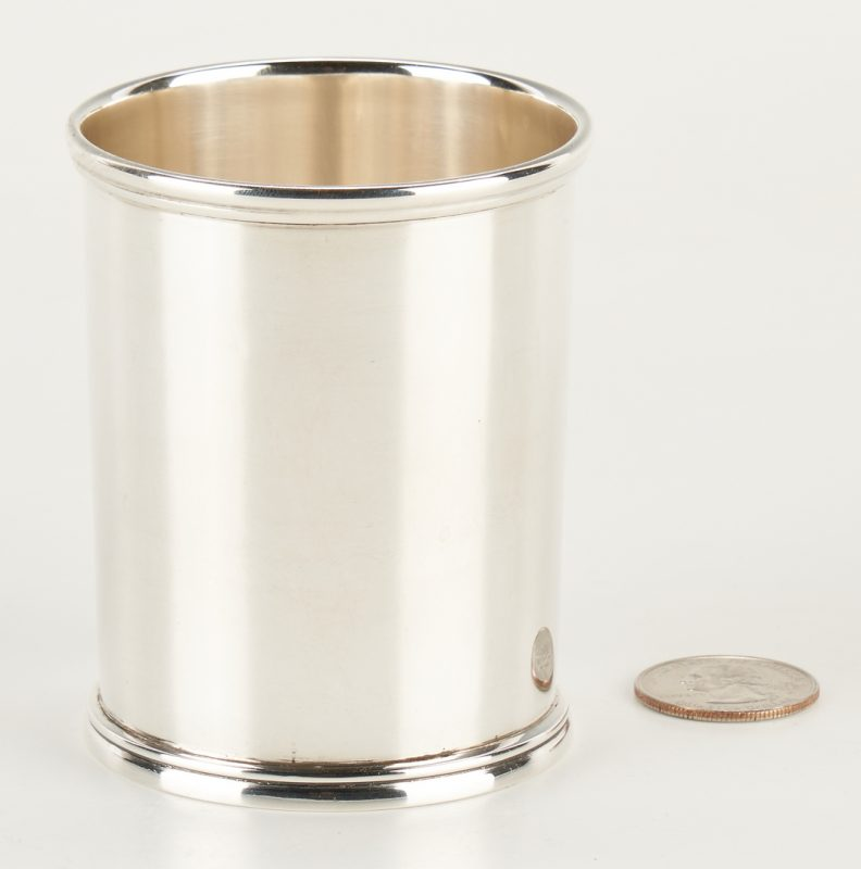 Lot 129: Glasgow, KY Coin Silver Julep Cup, Eubank