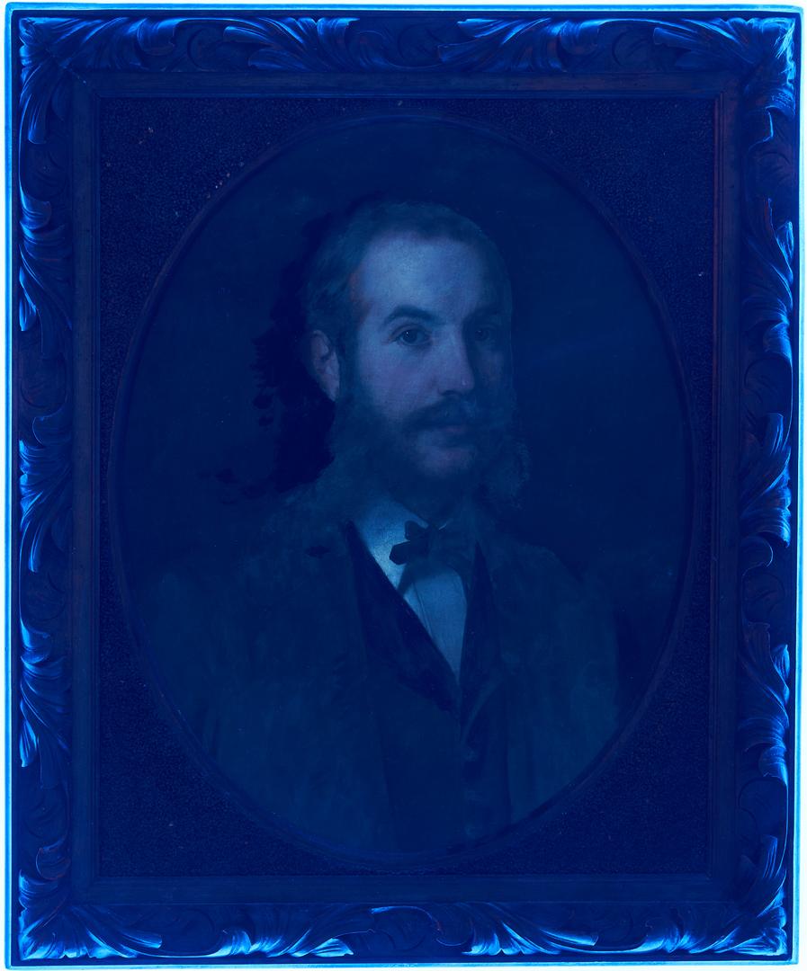 Lot 137: Pr. Continental School 19th Cent. Companion Portraits