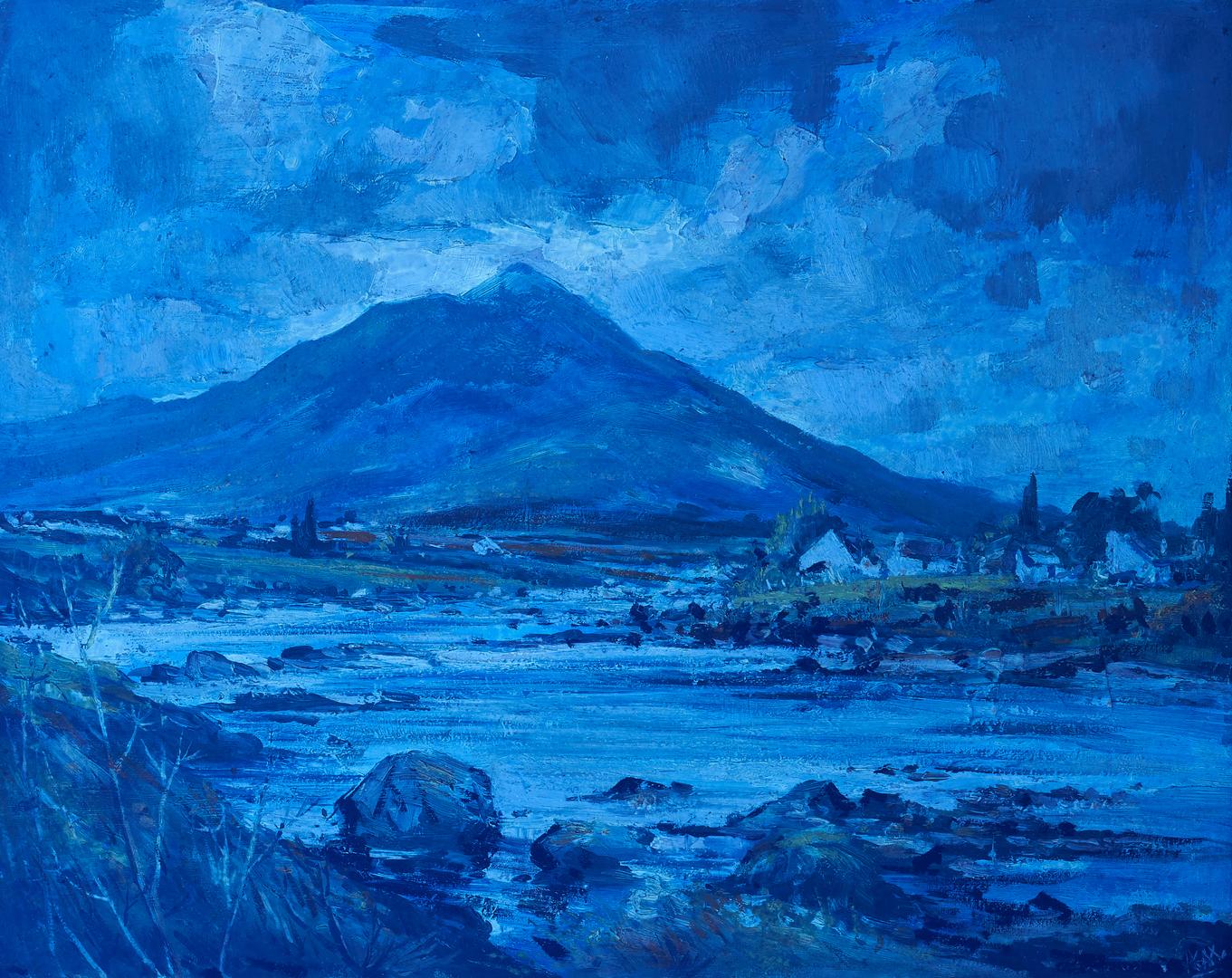 Lot 143: Kenneth Webb O/B Irish Landscape Painting