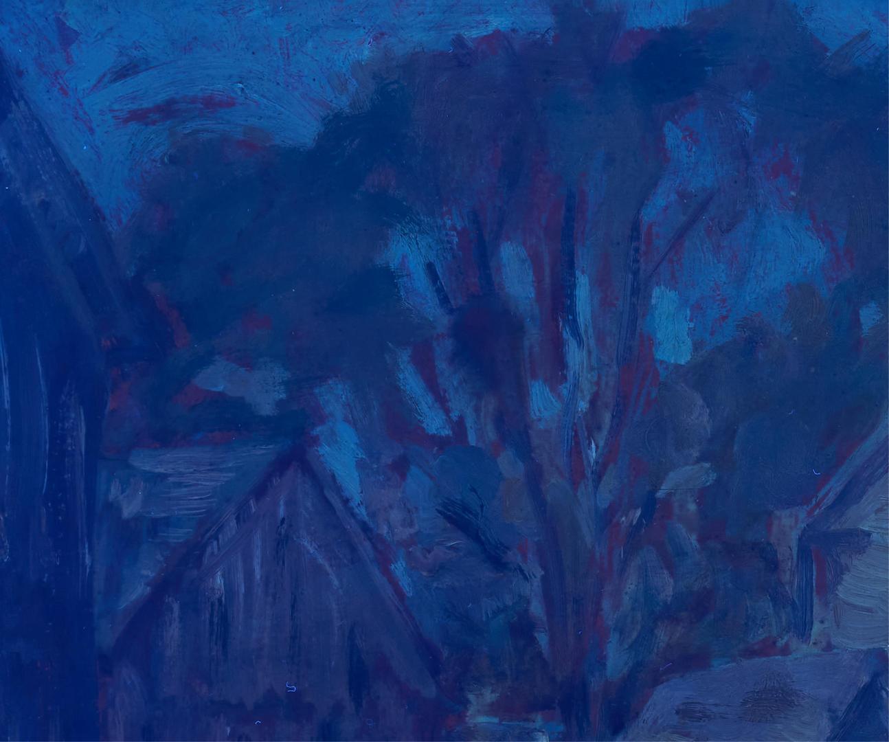 Lot 157: G. Symons O/B Landscape with Barn