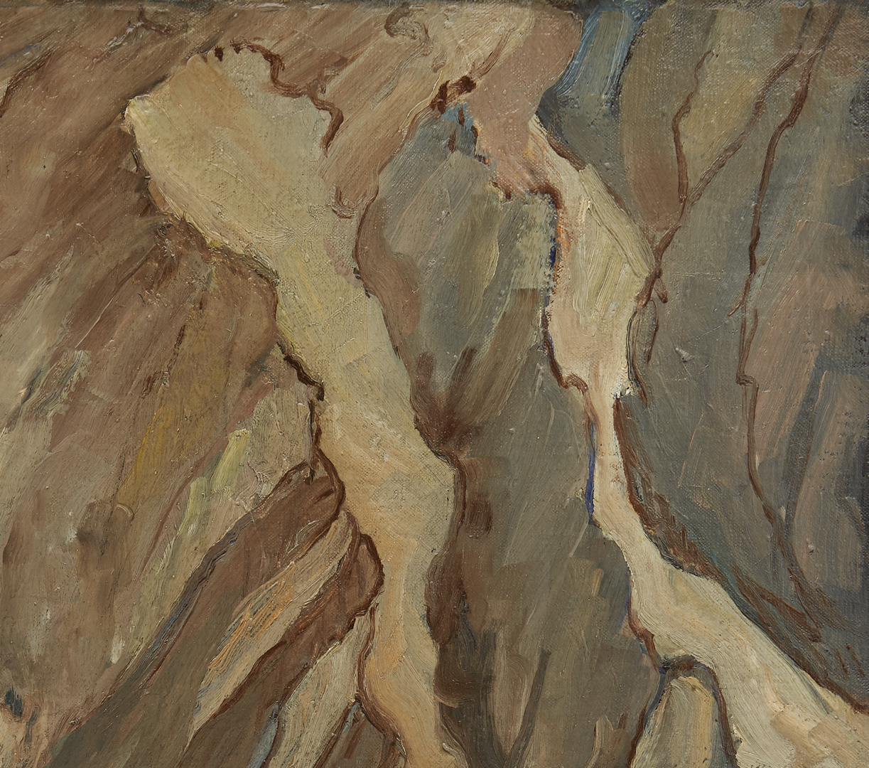 Lot 165: Nell Choate Jones Exhibited O/C French Landscape