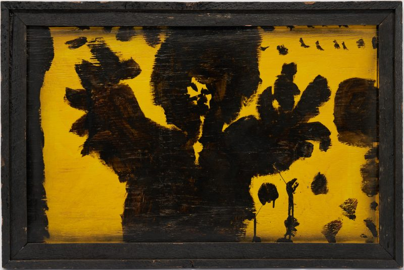 Lot 169: Mary T. Smith Outsider Art Painting