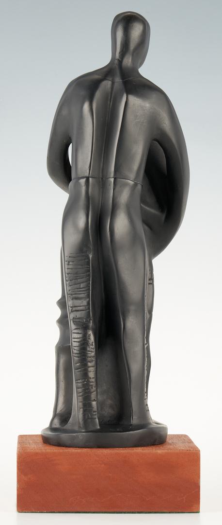 Lot 177: Elizabeth Catlett Bronze Sculpture, The Family