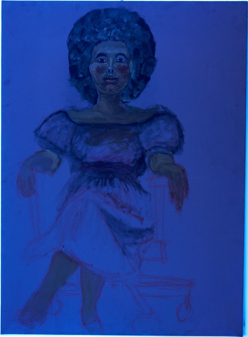 Lot 180:  Oil on Canvas Portrait of a Woman, Joseph Delaney