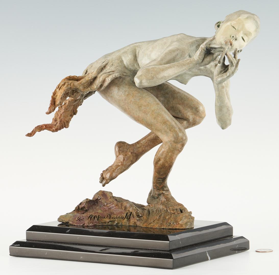 Lot 184: Richard MacDonald Bronze Sculpture, Piper, No. 1/175