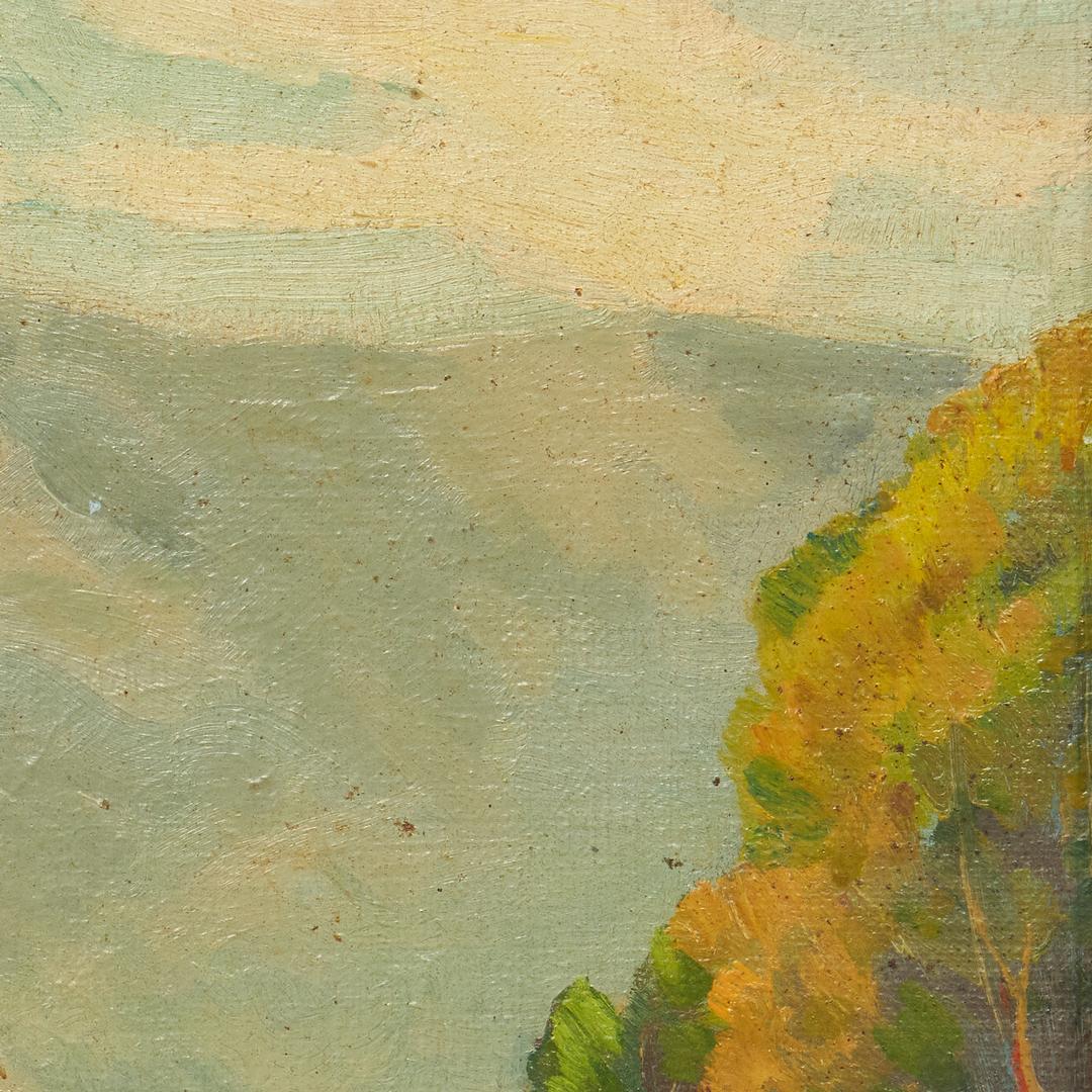 Lot 192: Louis E. Jones O/B, Smoky Mtn. Landscape Painting
