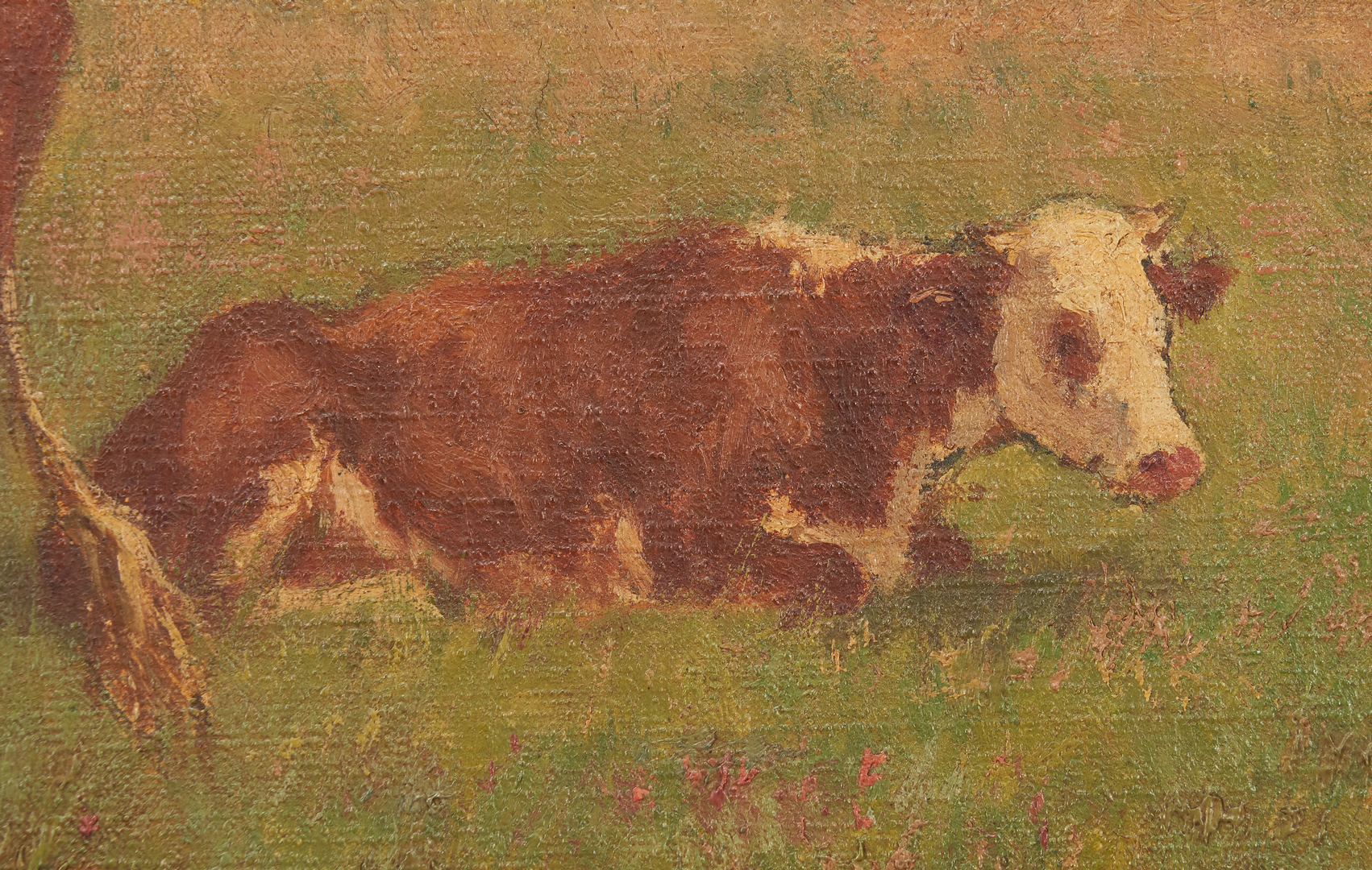 Lot 193: Matilda Lotz, o/c painting of Cattle