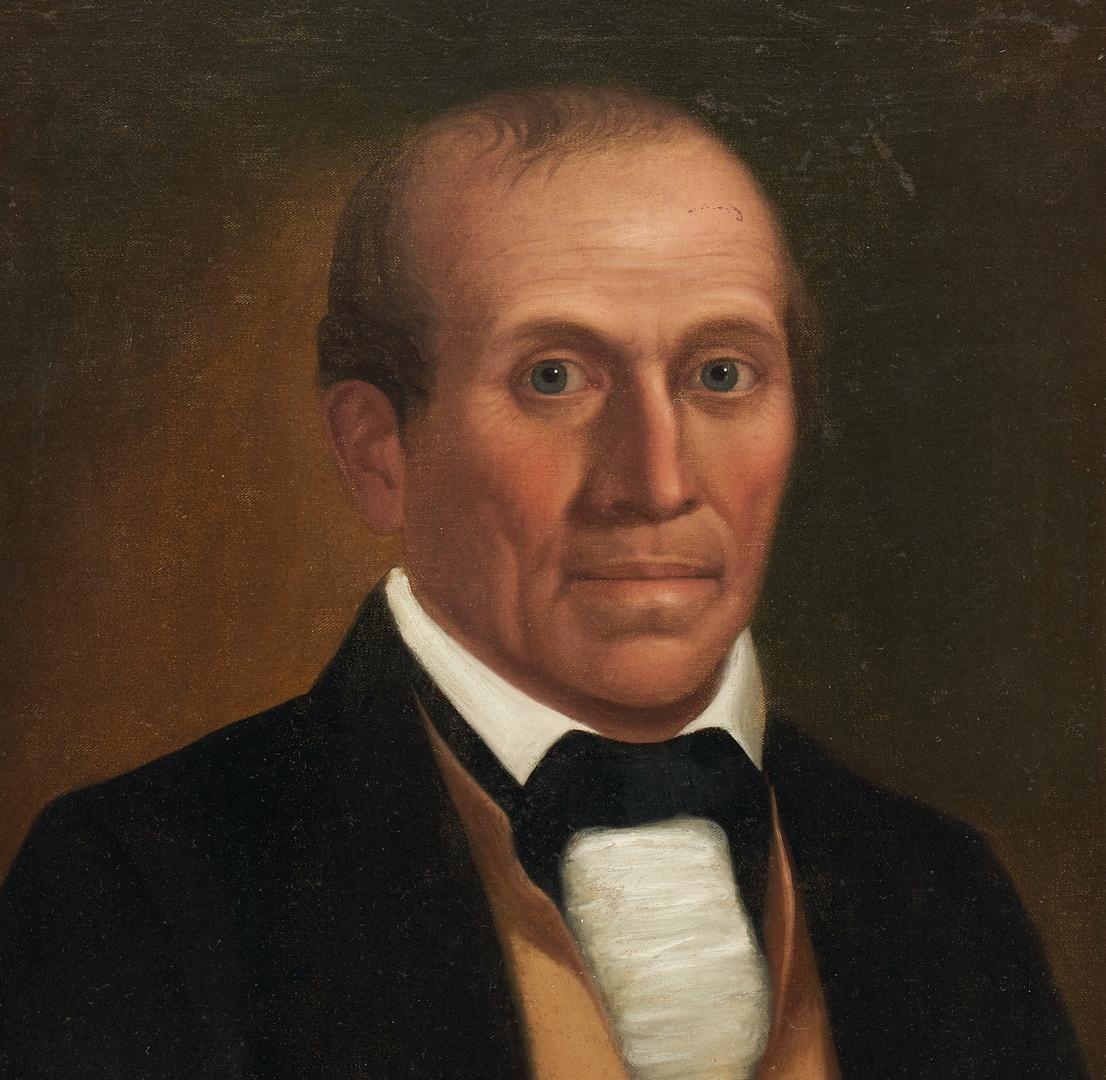 Lot 194: Samuel Shaver Portrait of Judge John McKinney