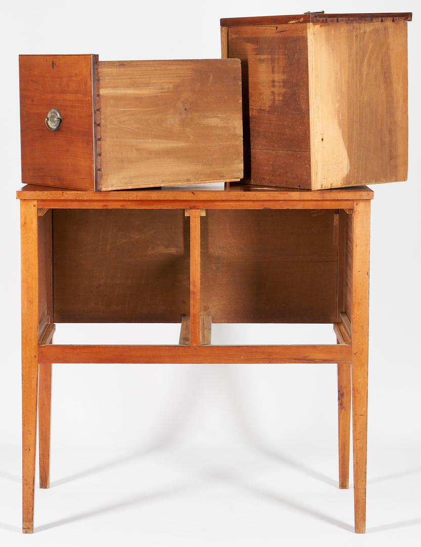 Lot 199: Middle Tennessee Cherry Sugar Sideboard, Davidson Co. Attrib.