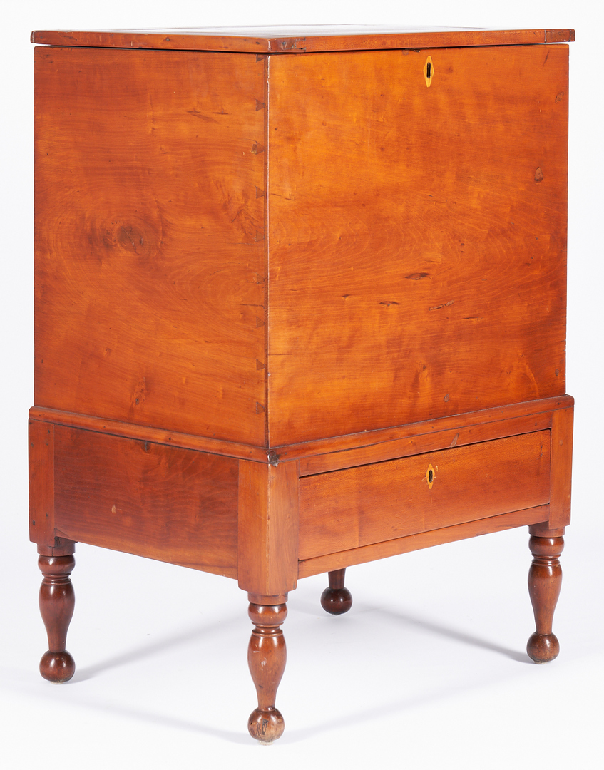 Lot 201: Middle Tennessee Sheraton Sugar Chest