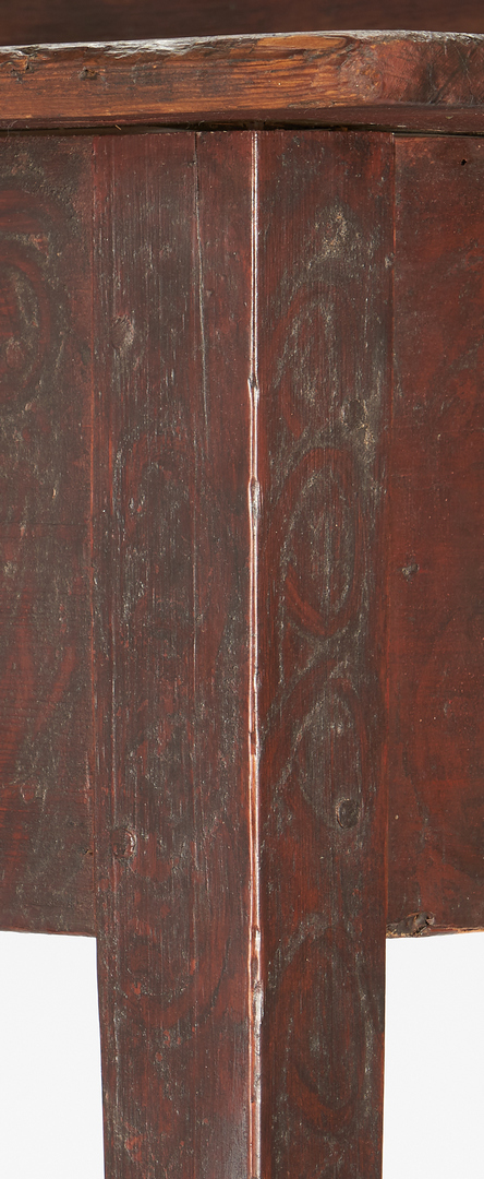 Lot 203: Georgia Hepplewhite Painted Pine Huntboard