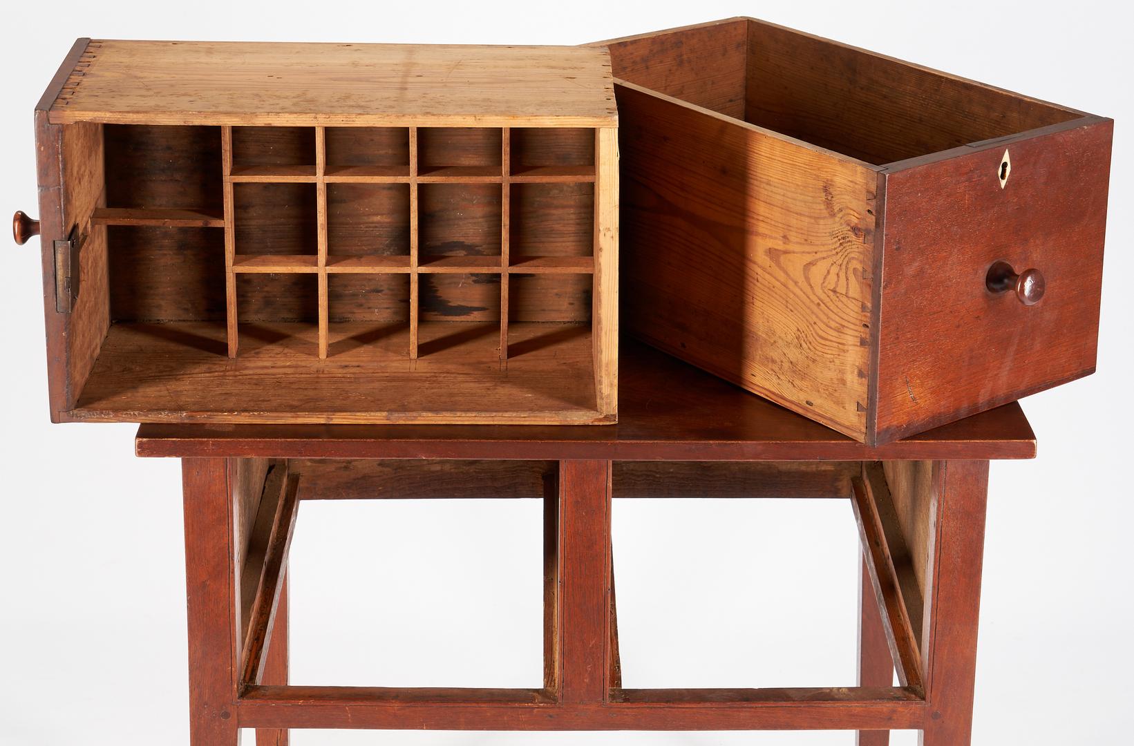Lot 206: Southern Walnut Brandy Table or Board