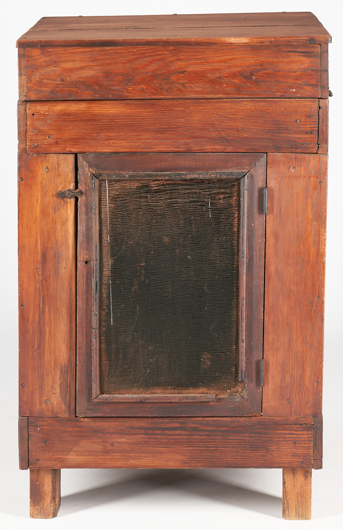 Lot 211: Southern Biscuit Table with marble slab and Lower Screen Door, GA