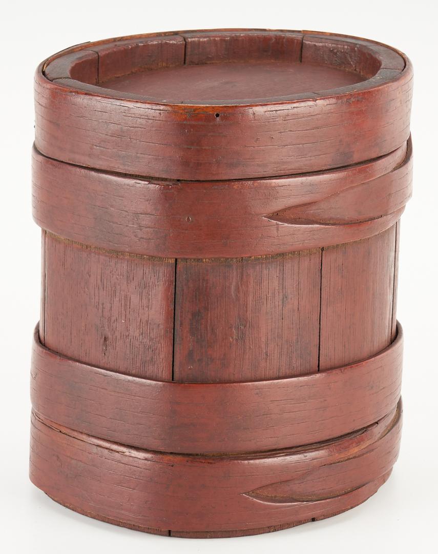 Lot 220: 3 Treenware Items, incl. Burl