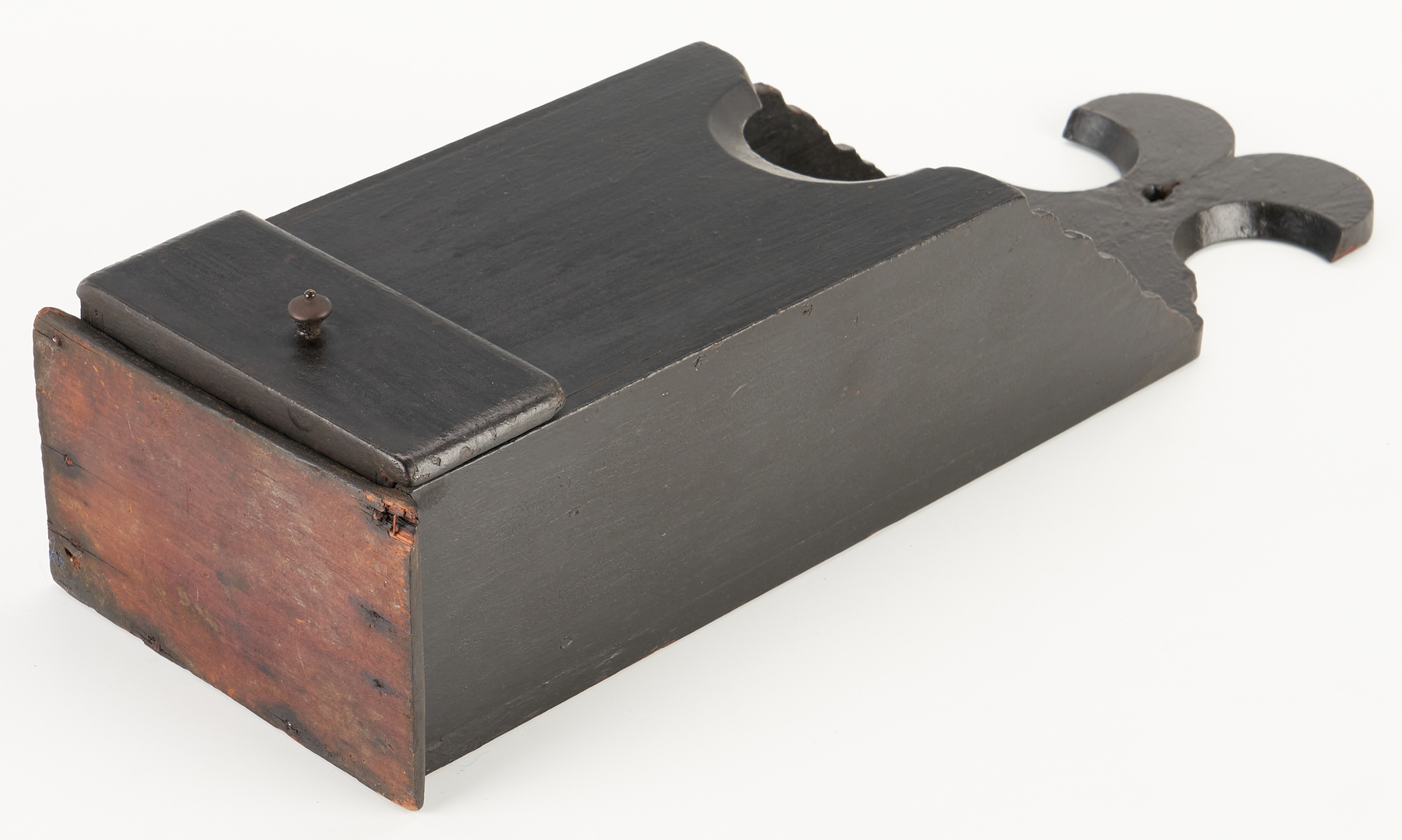 Lot 221: 2 Painted Pipe & Storage Boxes