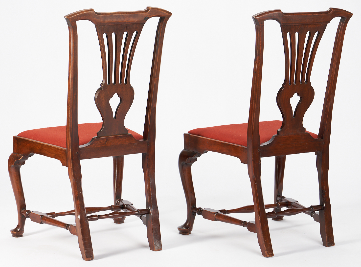 Lot 223: 6 Period Chippendale Chairs attrib. Portsmouth, NH