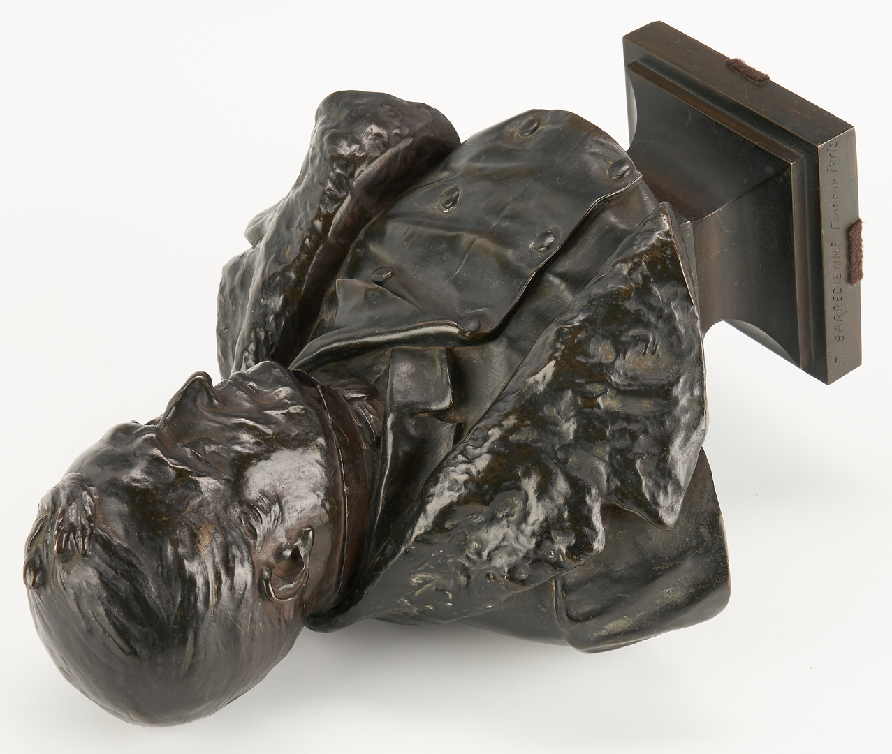 Lot 246: Ernest Guilbert Bronze Sculpture, Barbedienne Foundry