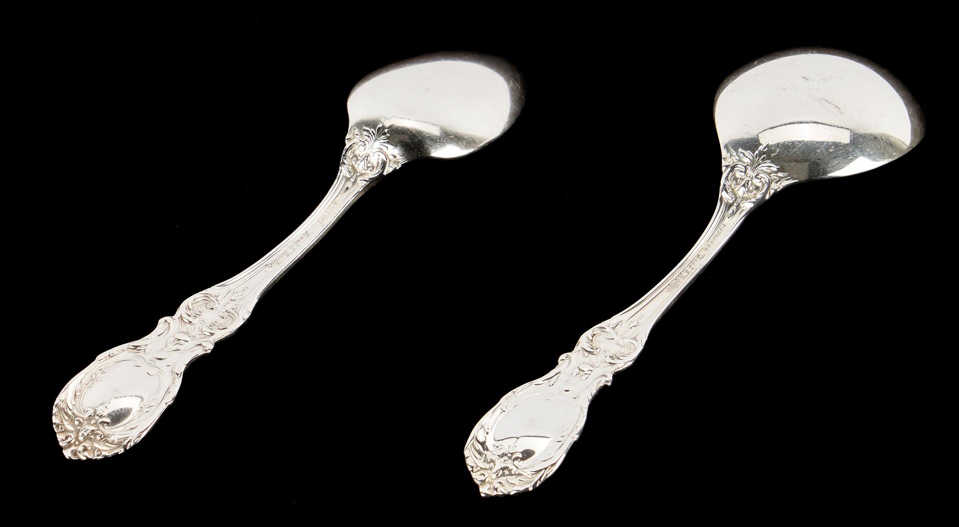 Lot 274: 104 pcs. Reed & Barton Francis I Sterling Silver Flatware
