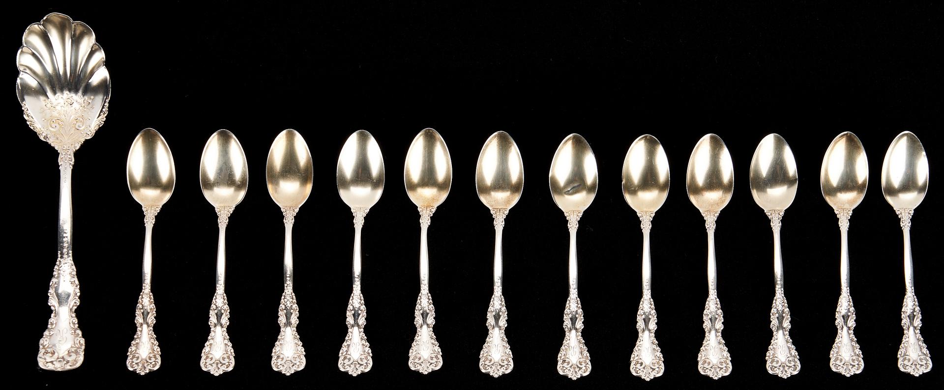 Lot 277: 100 Pcs. International Revere Sterling Silver Flatware