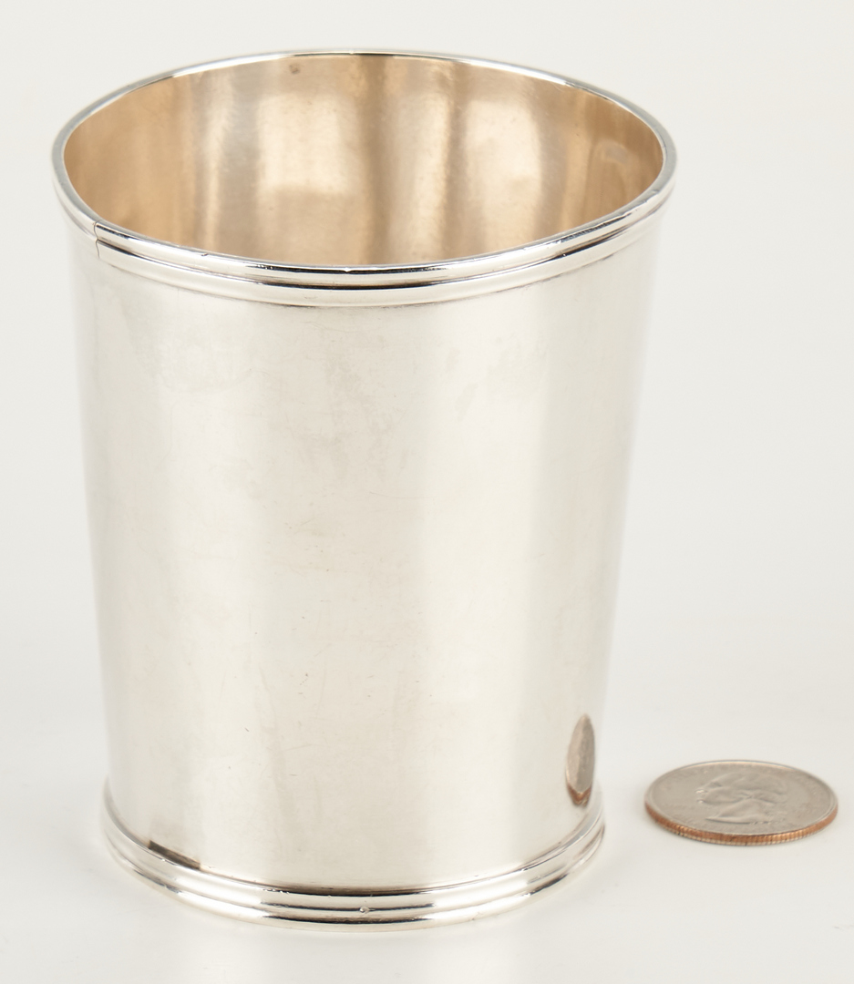 Lot 295: KY Coin Silver Julep Cup, McClure & Valenti