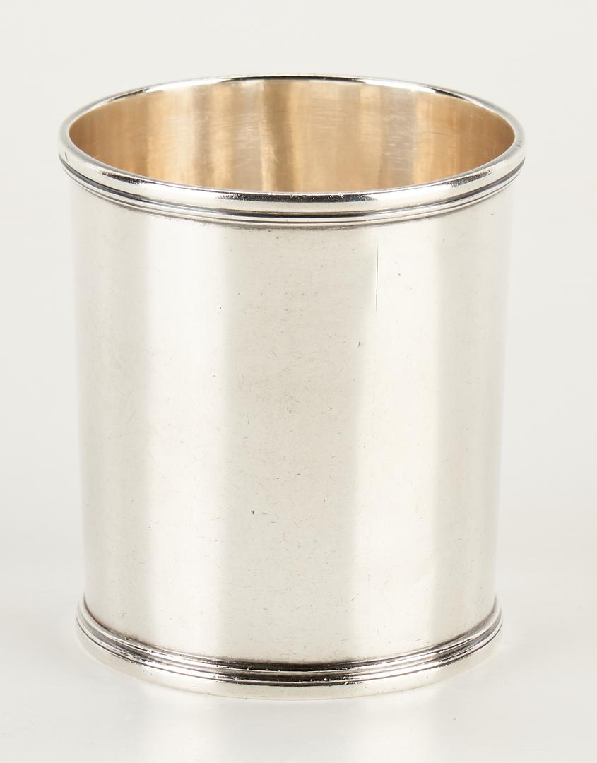 Lot 296: Richmond, KY Coin Silver Julep Cup, Wheritt