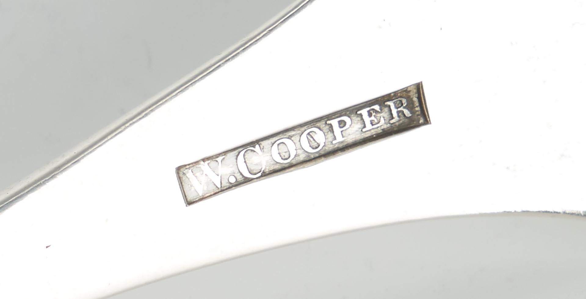 Lot 317: W. & A. Cooper Coin Silver Ladle