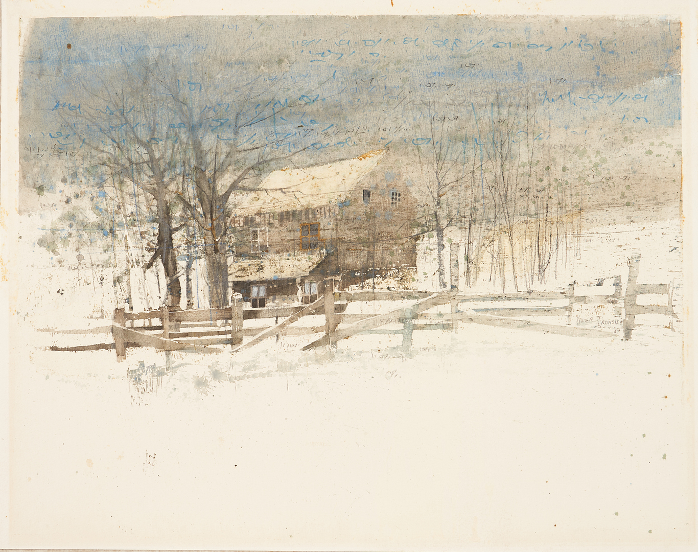 Lot 356: Two (2) Tennessee Works on Paper, Birdwell, Ironside