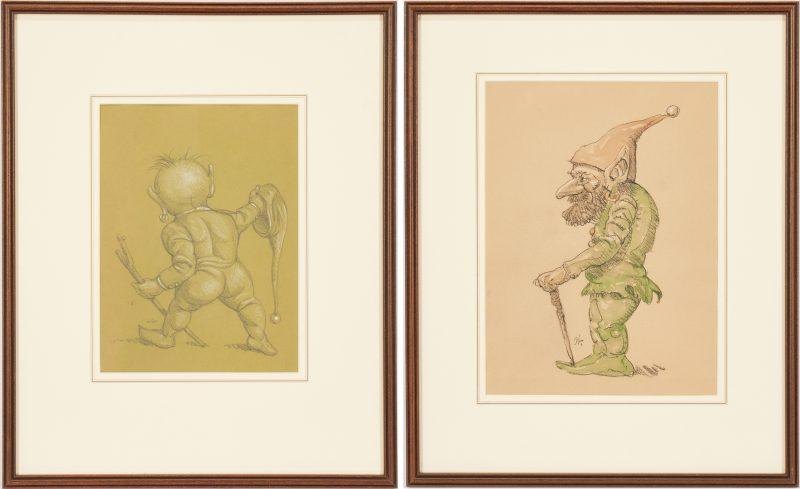 Lot 358: 2 Werner Wildner Gnome Artworks