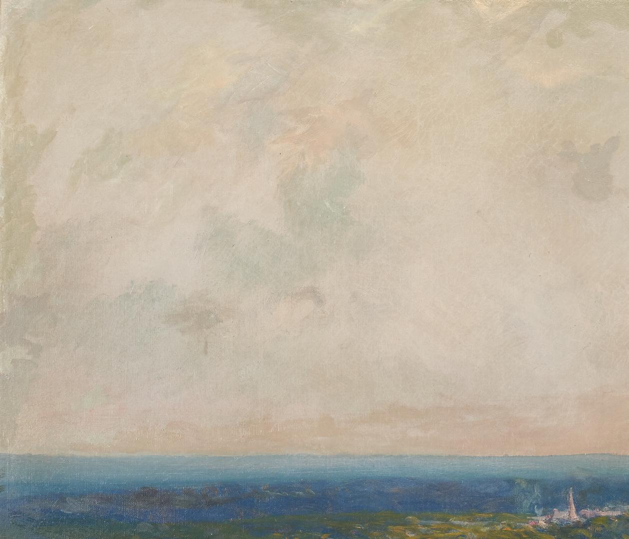Lot 366: Henry Hammond Gallison O/C, Large Landscape Painting