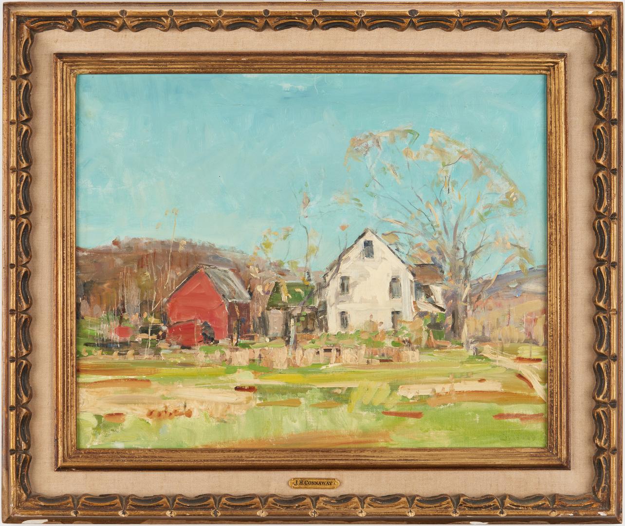 Lot 369: Jay H. Connaway O/B, Spring on the Farm
