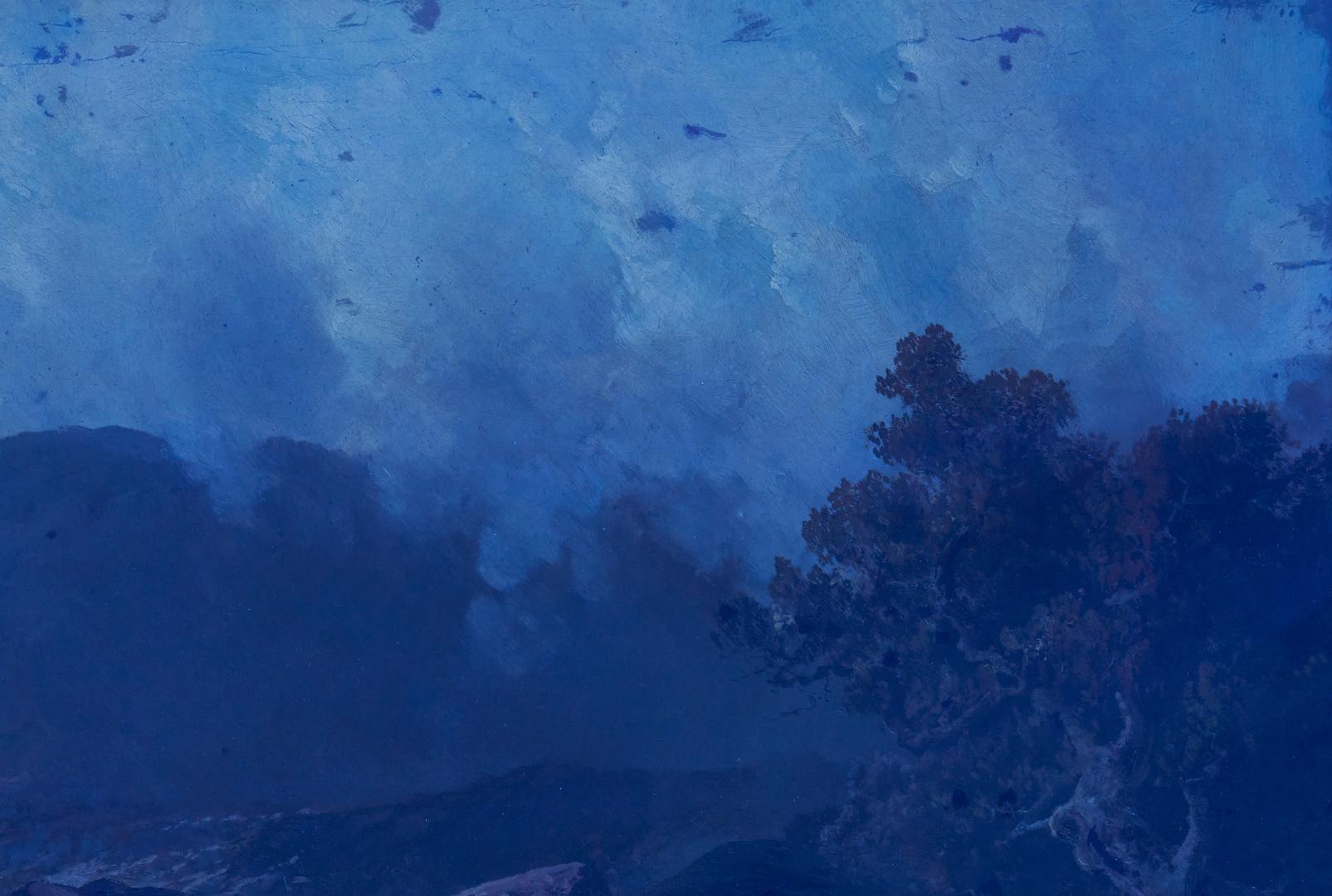 Lot 378: Attr. Alfred Bricher O/C, Coastal Landscape