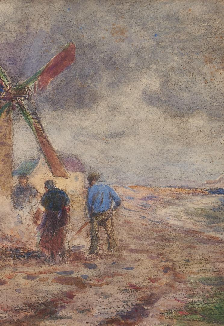 Lot 380: 3 Frank Penfold W/C Paintings, Landscape & Seascapes