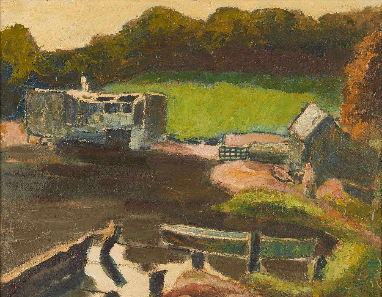 Lot 385: 2 Harry Hering Oil Paintings