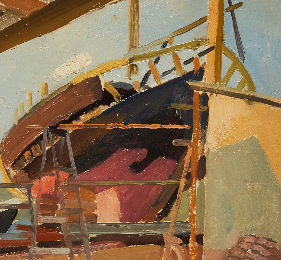 Lot 396: Carl Van Hanno O/B, Norwegian Ship Building Deck