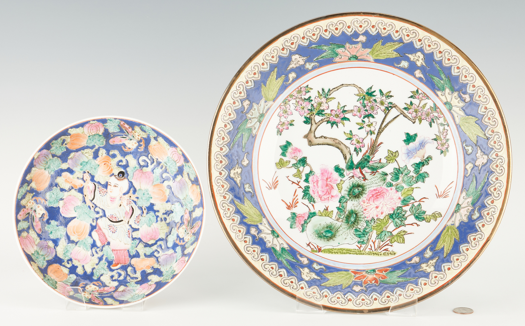 Lot 418: 4 Assorted Chinese Porcelain Items