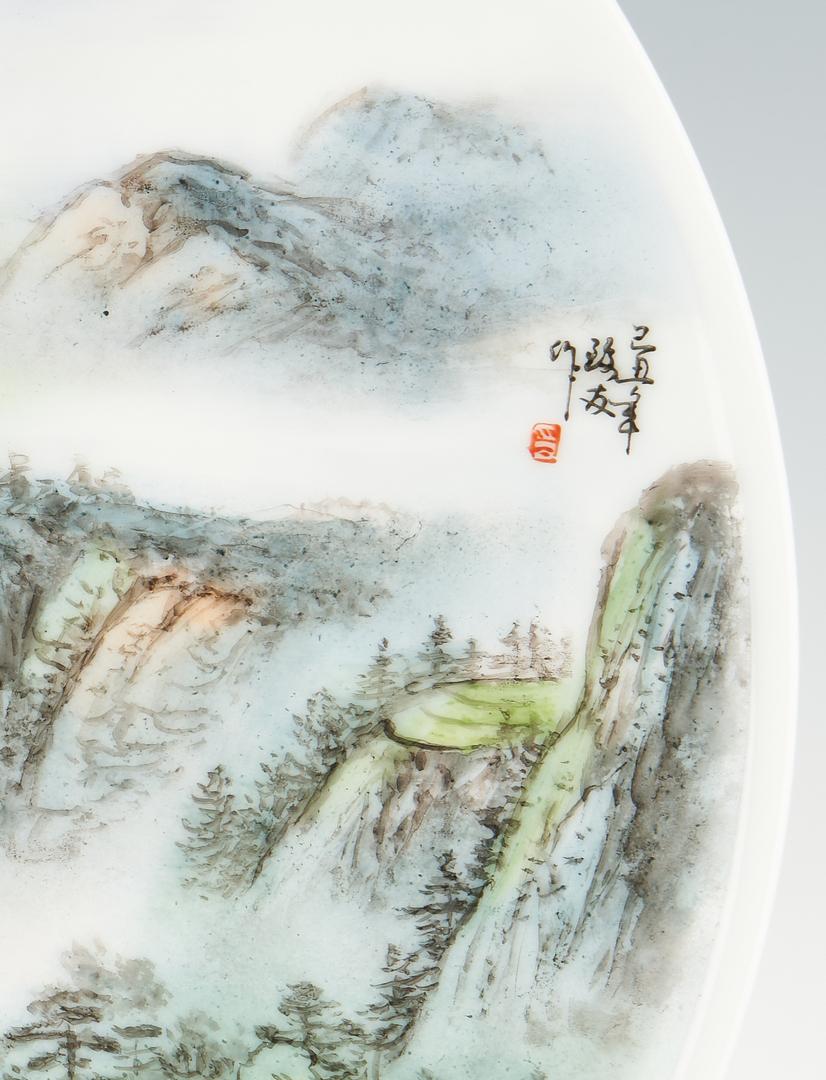 Lot 424: 2 Asian Porcelain Chargers