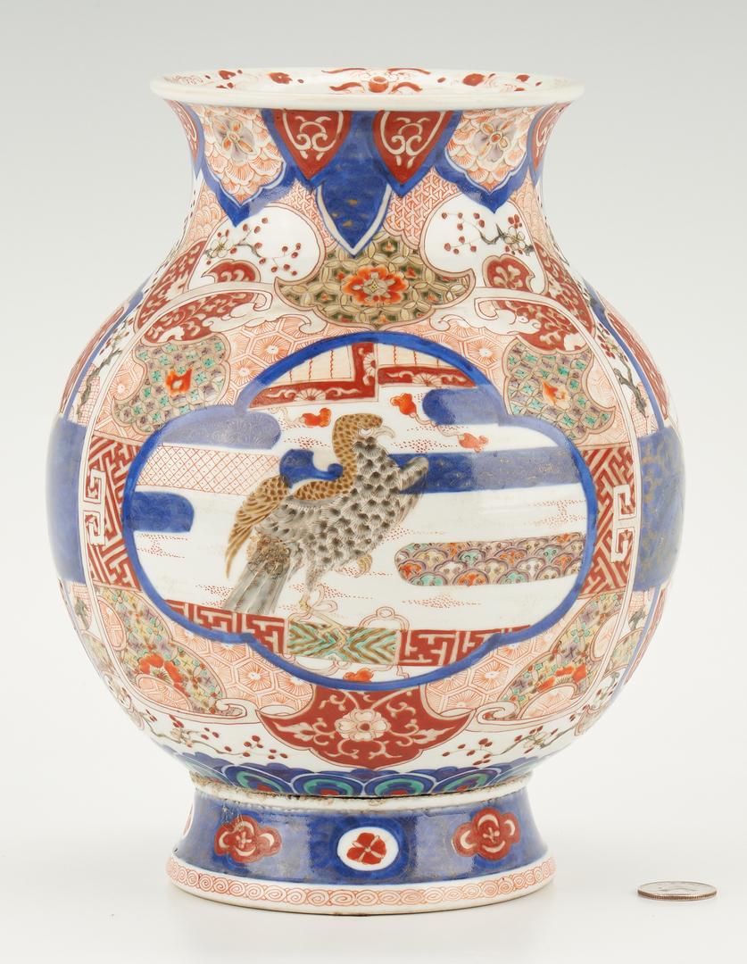 Lot 430: Japanese Imari Porcelain Vase