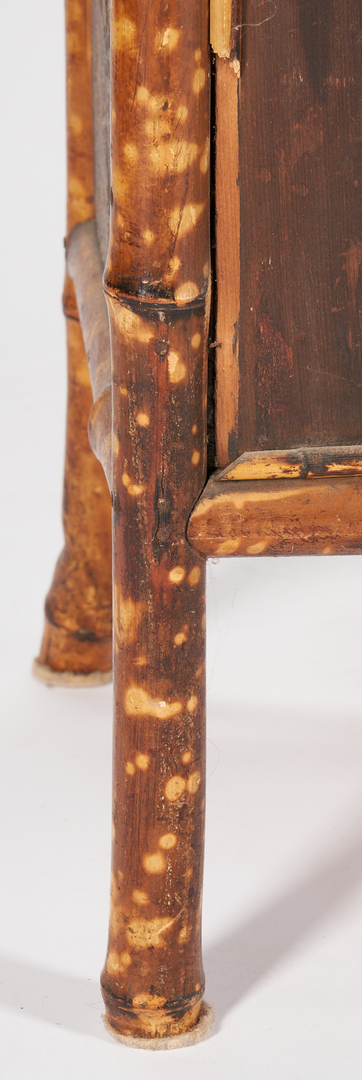 Lot 457: Aesthetic Movement Bamboo Bookcase