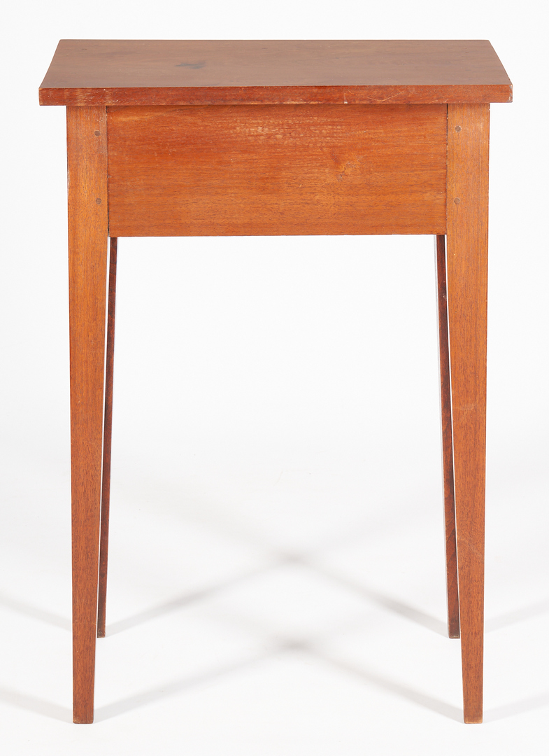 Lot 464: Southern Hepplewhite Inlaid Table or Stand