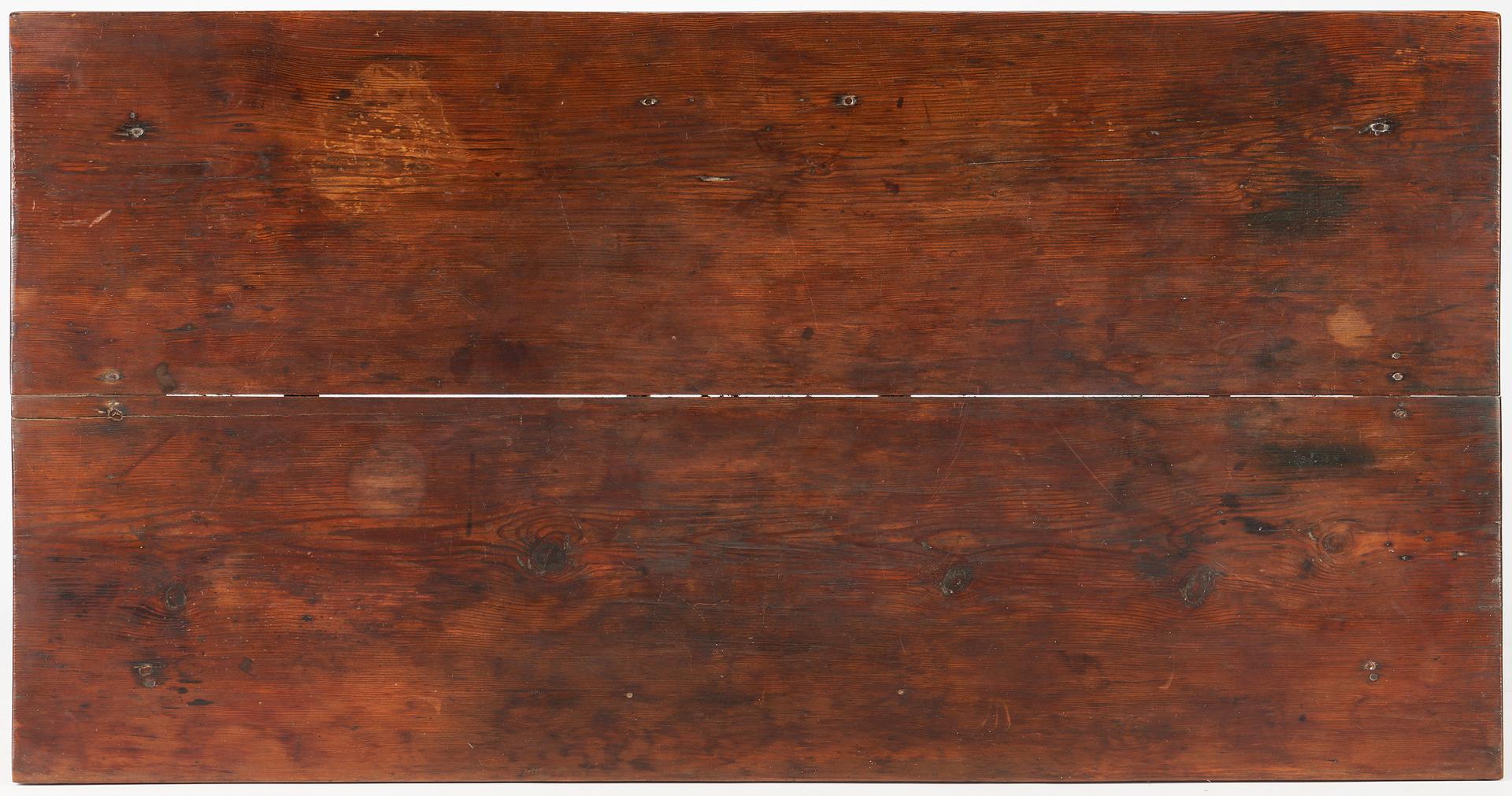 Lot 466: Large Georgia Yellow Pine Huntboard