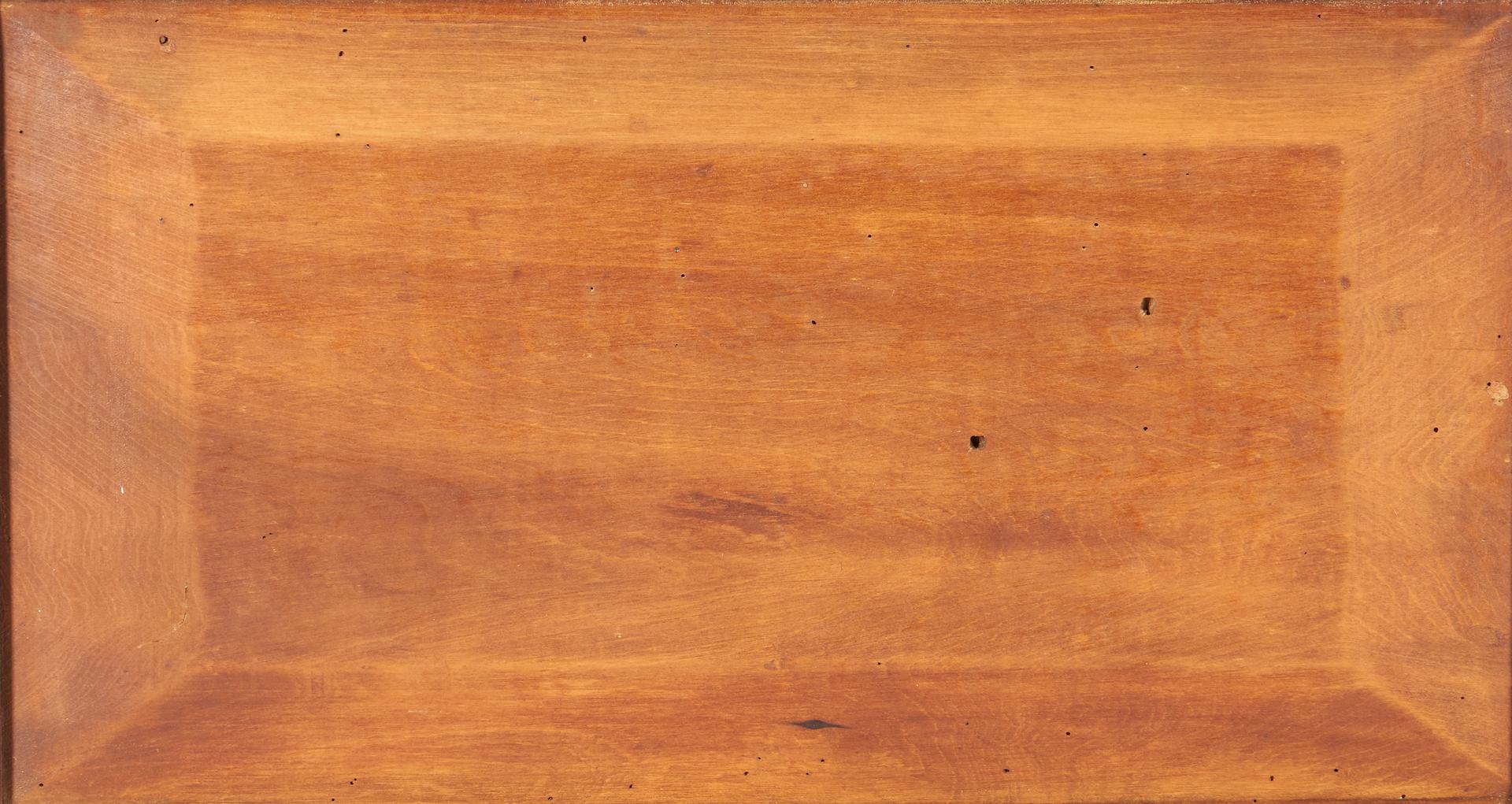 Lot 469: Southern Sheraton Cherry Sugar Chest, Attrib. KY