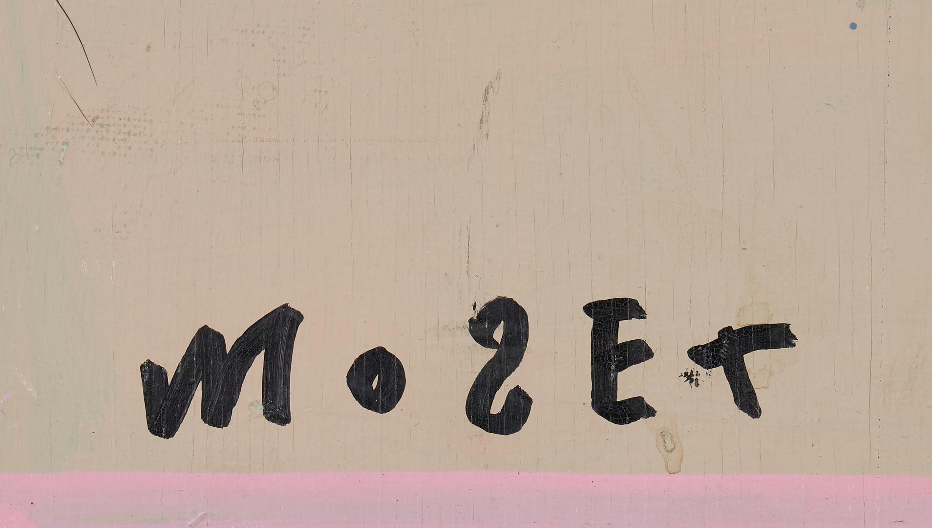 Lot 475: Mose Tolliver Folk Art Painting, Nall Profile