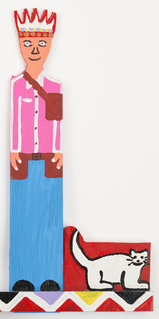 Lot 477: James Harold Jennings Outsider Art Whirligig