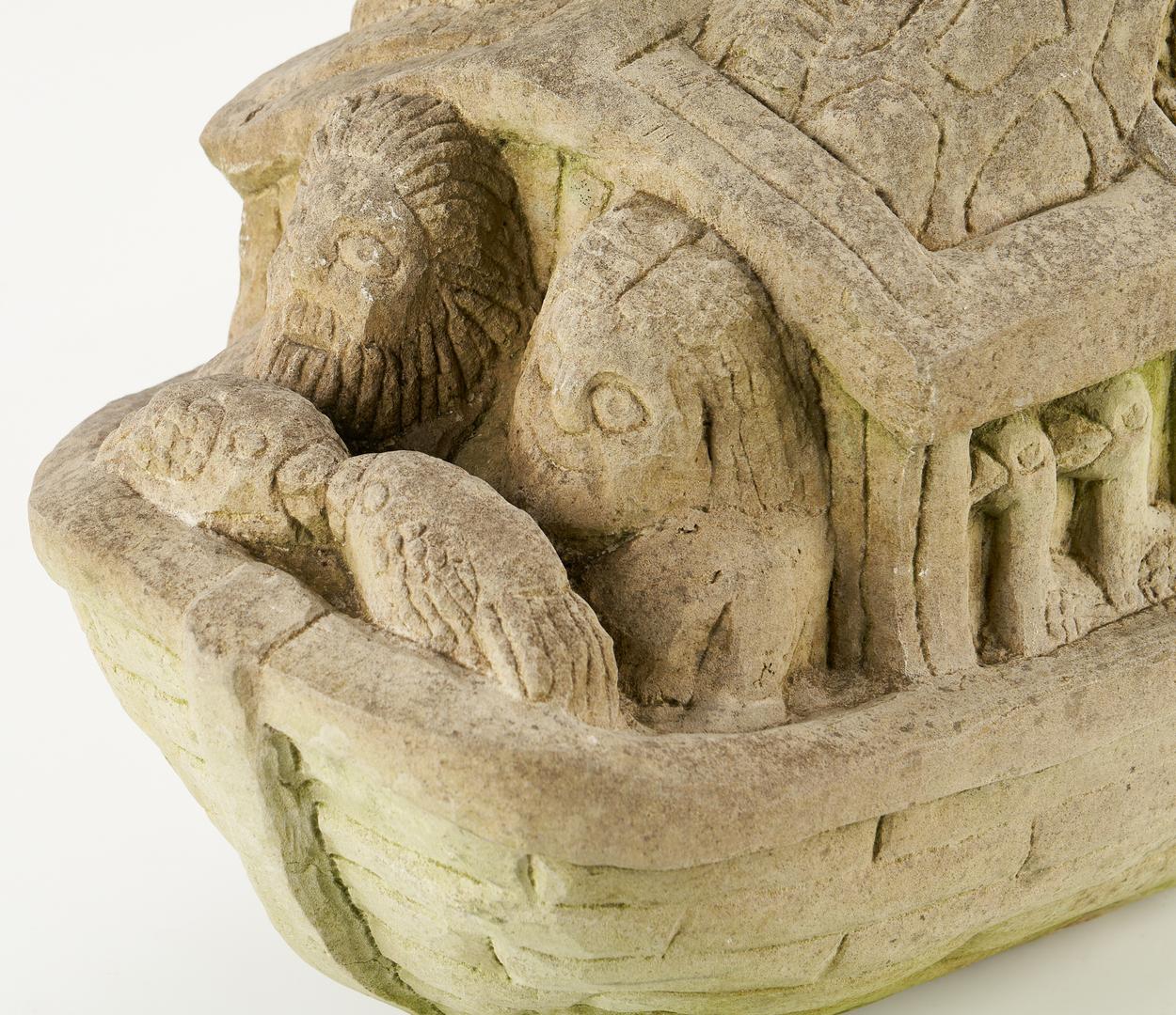 Lot 481: Tim Lewis, Noah's Ark Sculpture