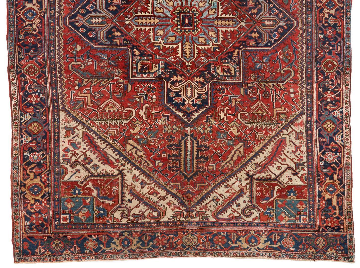 Lot 490: Persian Heriz Rug