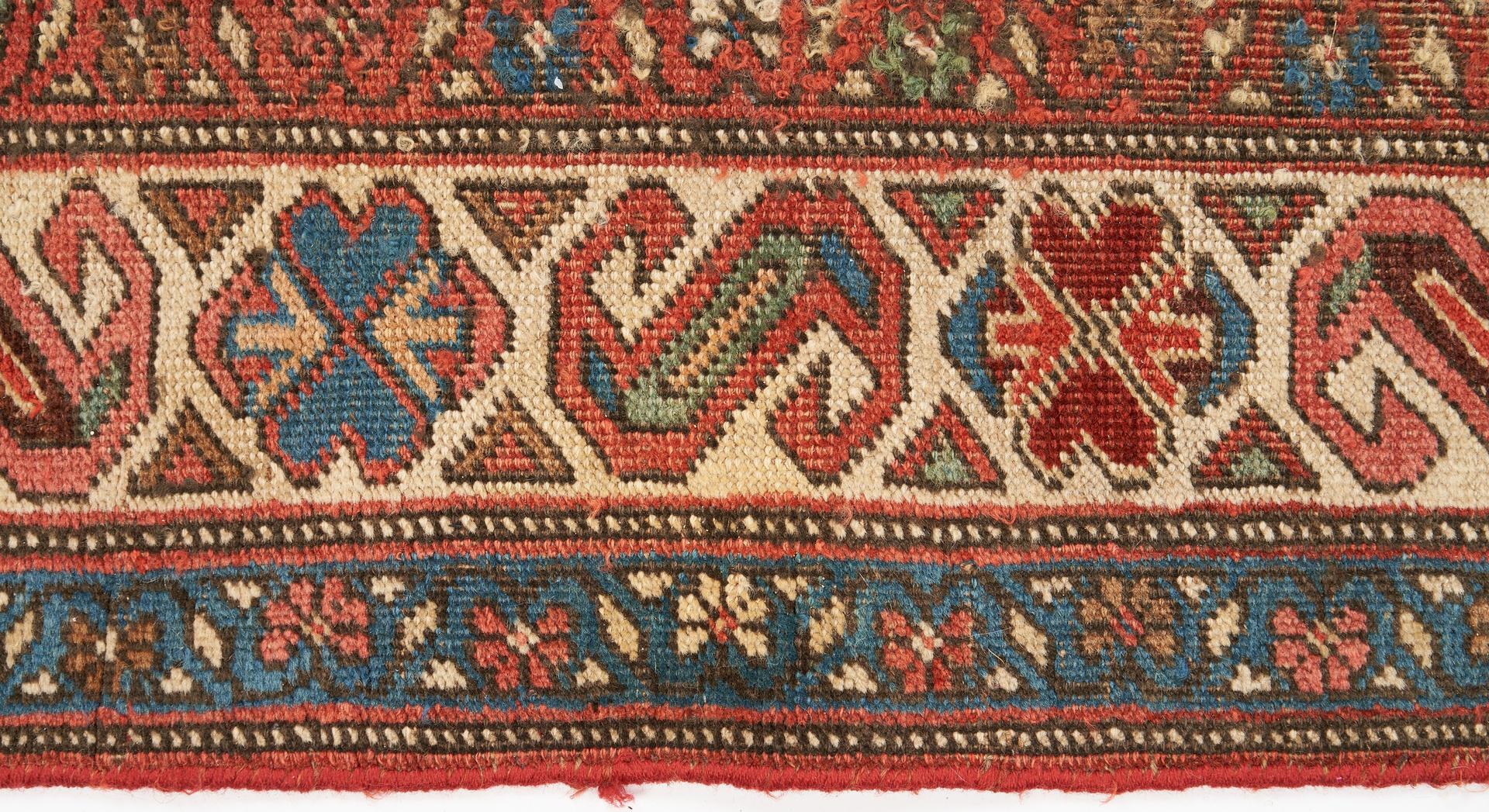 Lot 492: 2 Kurdish Bijar Rugs